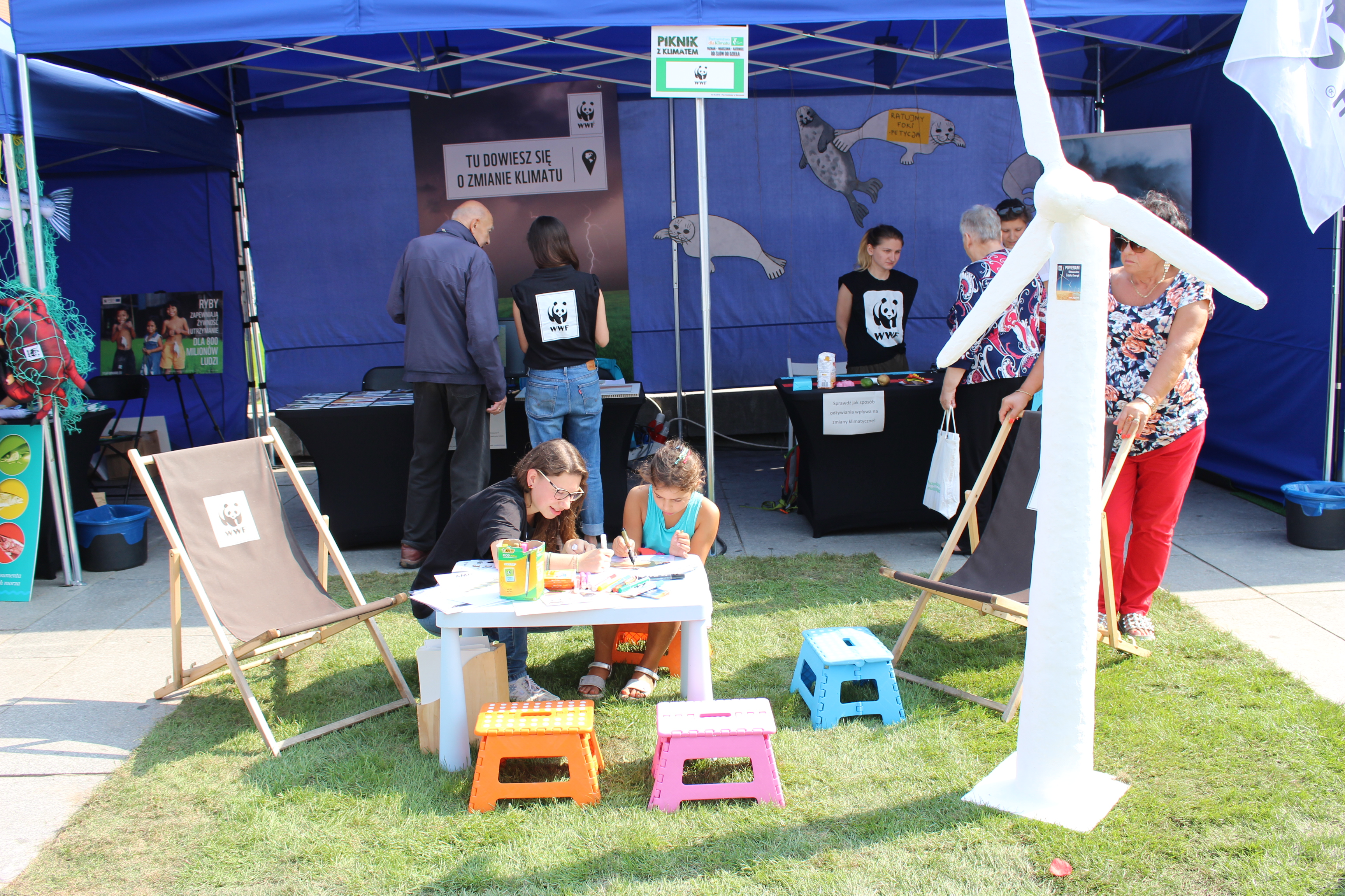 "Picnic with Climate ""Poznan – Warsaw – Katowice – from words to action""."